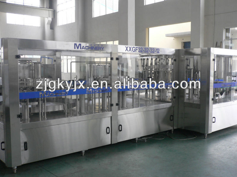 Xgf 32-32-10 Automatic Hot Juice Filling Machine 3-in-1