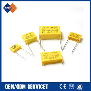 104 K275V Metallized Polypropylene Film X2 Capacitor (TMCF18)