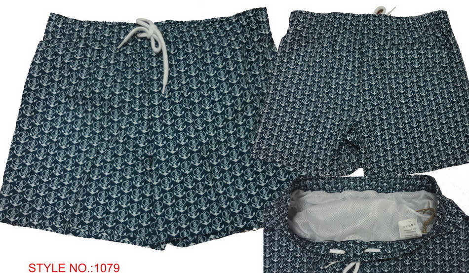 Men′s Casual Leisure Summer Printed Beach Shorts/Board Shorts