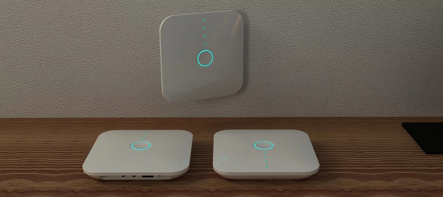 Home WiFi Gateway Alarm Automation System with ISO/Android APP