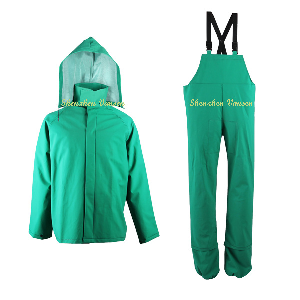 Experienced China Manufacturer of Rainwear in Green