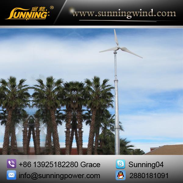 5000W Wind Turbine for Hybrid Power System