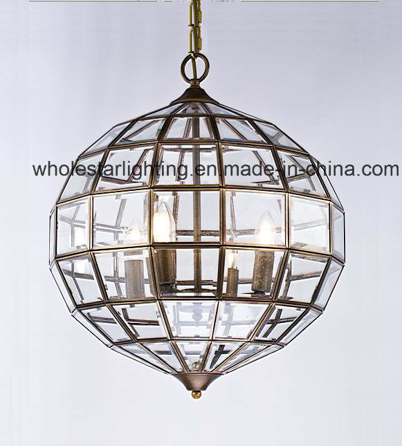 Traditional Glass Chandelier Lamp (WHG-772)