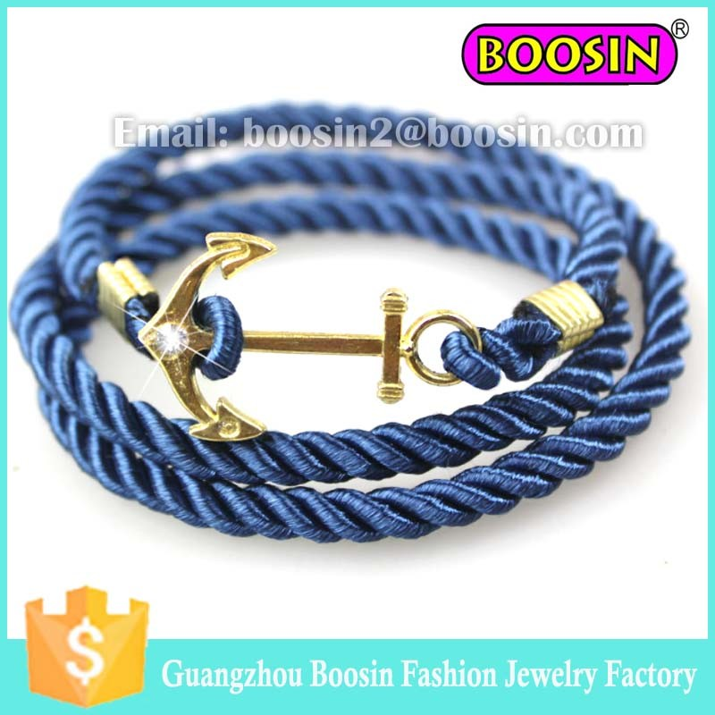2016 Hot Sale Men′s Leather 18k Gold Love Bracelet Jewelry