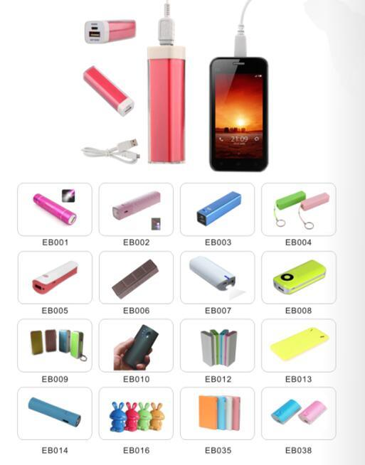 Slim Power Bank Charger for Mobile Smart Phone for Free Sample (EP056)