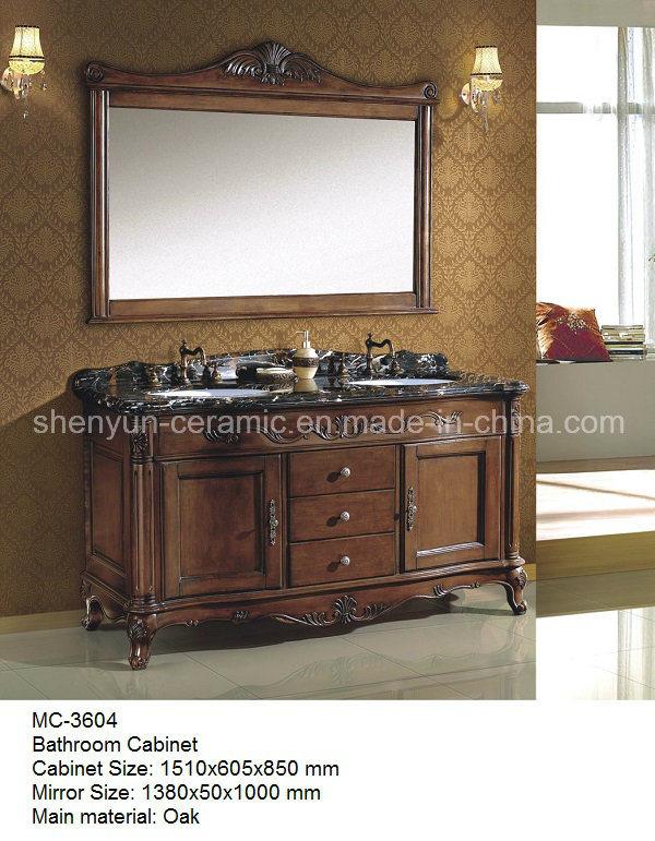 Bathroom Furniture Bathroom Cabinet with Wash Basin (MC-3604)