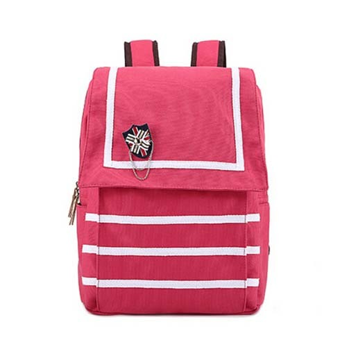 Cheaper Canvas Ladies Fashion School Student Backpack Bag (XB0914)