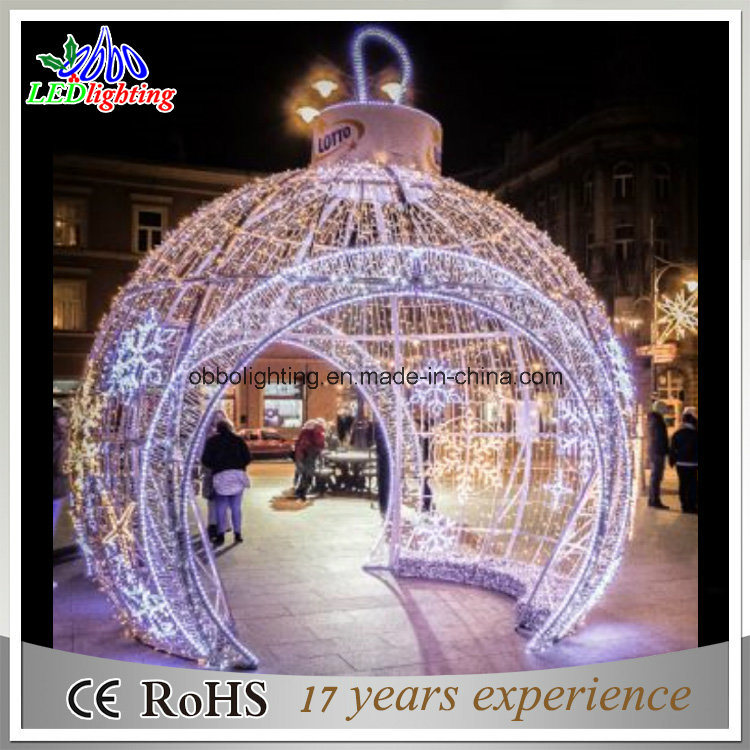 Big LED Outdoor Christmas Ball Lights Holiday Light Garden Decoration Light