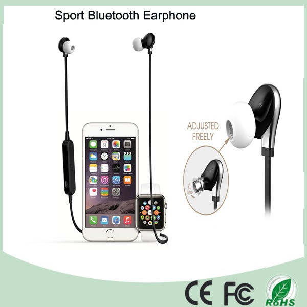 Black Color Wireless Earphone Bluetooth Headset Headphone (BT-128)