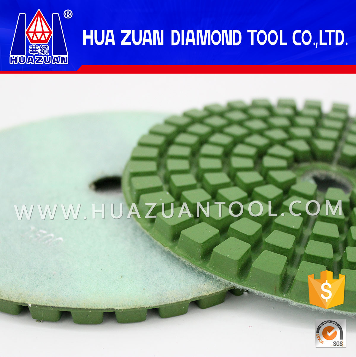 High Working Efficient 8 Inch Marble Polishing Pads