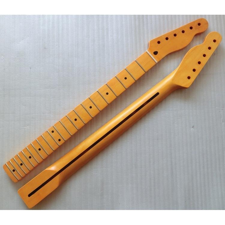 Nitro Finished Vintage One Piece Maple Tele Guitar Neck