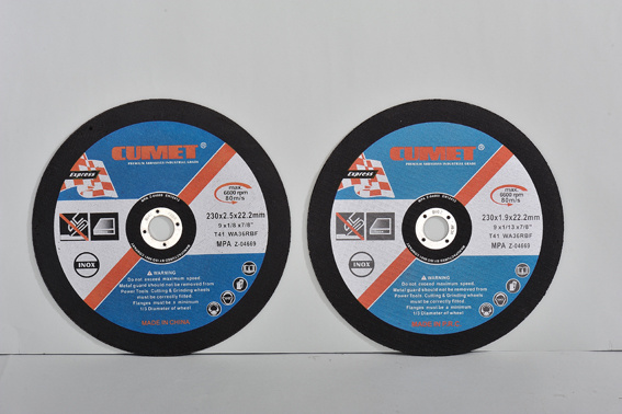 Flat Cutting Wheel for Metal (115X1.2X22.2) Abrasive with MPa Certificates