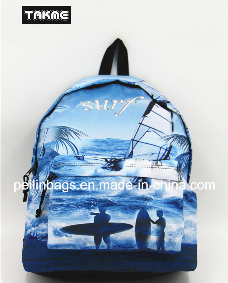 Fashion Sports Printing Bag Backpack for School Sport Travel Hiking