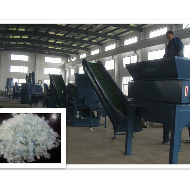 Plastic Bottles Washing and Recycling Machine