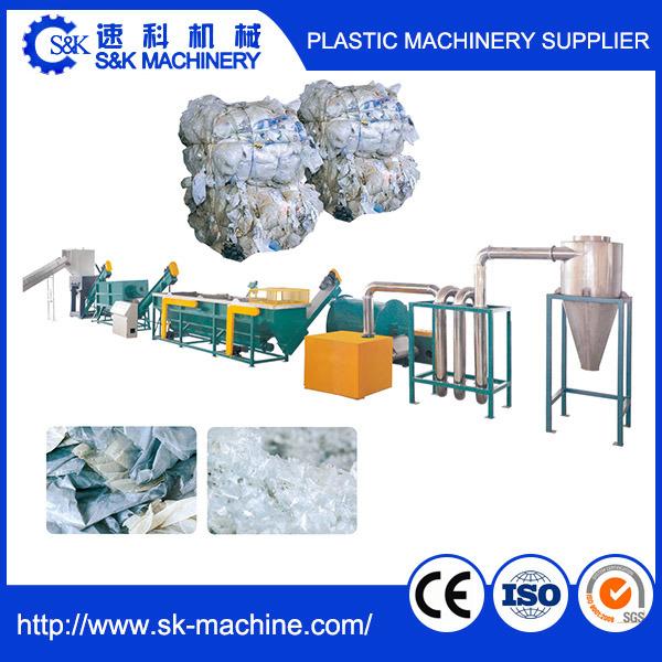 PE PP Film Washing Line / Plastic Recycling Line