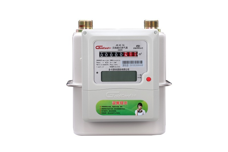 Prepayment Iot Domestic Gas Meter-Steel