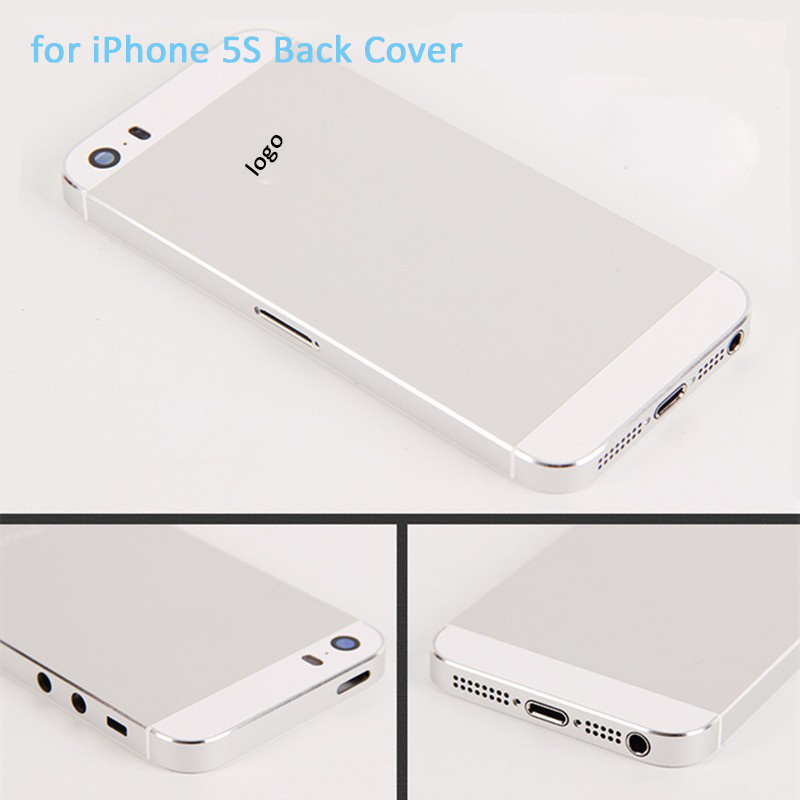 Mobile Phone Metal Back Battery Housing Cover for iPhone 5s