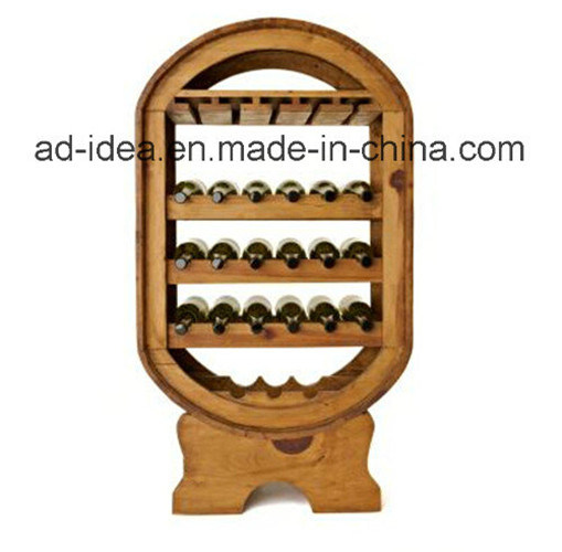 Durable Wooden Display Stand / Display for Wine Advertising