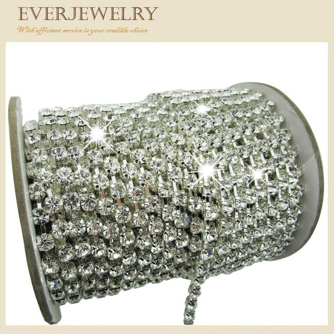 Preciosa Crystal Rhinestone Cup Chain Trimming for Garment/Shoe