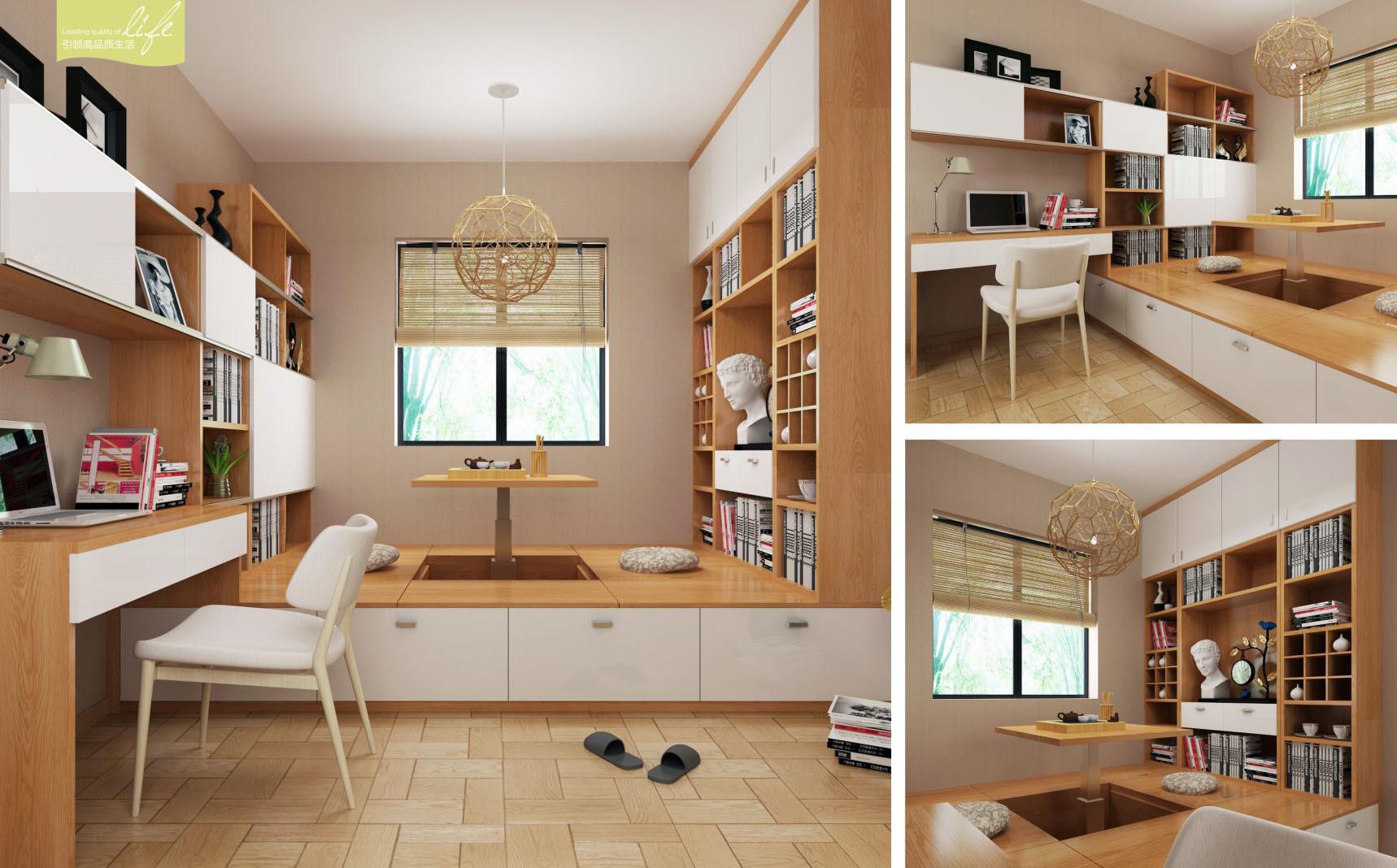 China Modern Design Bedroom Furniture With Tatami V1
