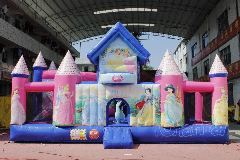 Aladdin Jasmine Inflatable Playground Chob107