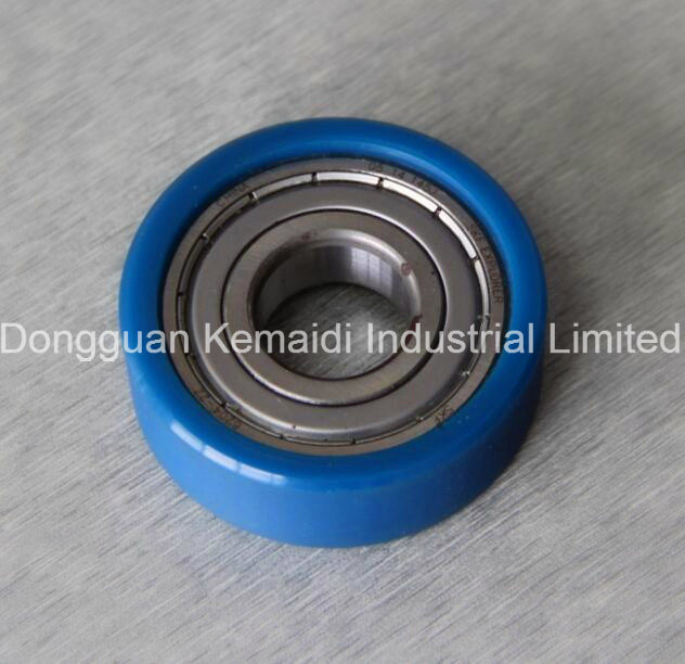 6001zz PU Attached Bearing with Good Lubrication