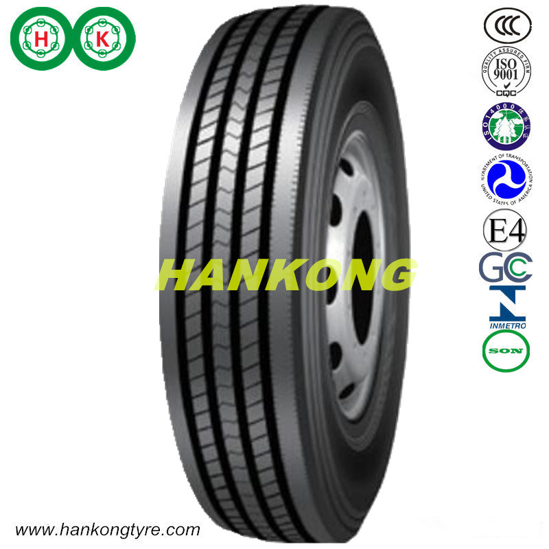 Trailer Tire Truck Tire Steel Radial Tire (215/70R17.5, 225/70R19.5, 235/75R17.5)