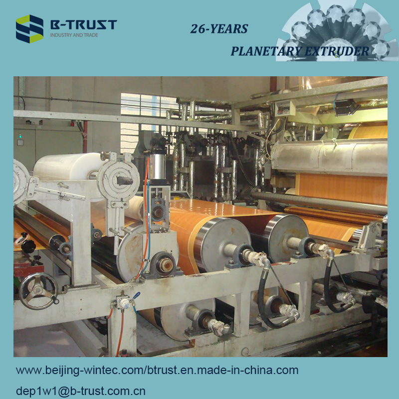 Wood Grain PVC Laminated Films Calendering/Calender Production Line