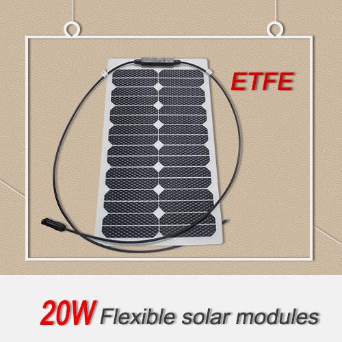2017 Latest 20W Mini Flexible Solar Panels