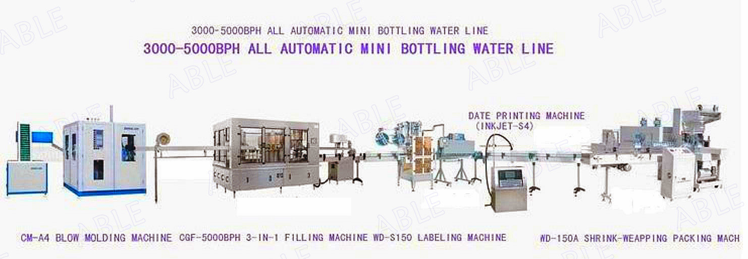 3000-5000bph Water Filling Machine