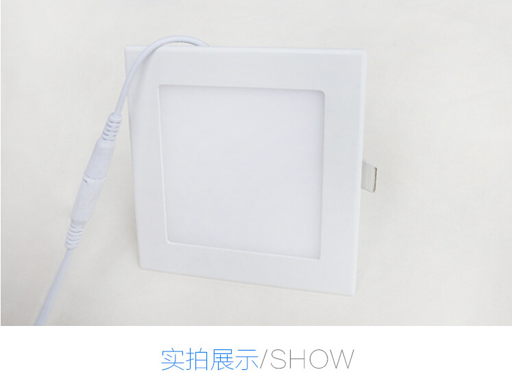 LED Square Panel Light/Spot Light/Living Room/Supermarket/Meeting Room/Dining Room/Bedroom Light/Indoor Light 4W LED Panel Light