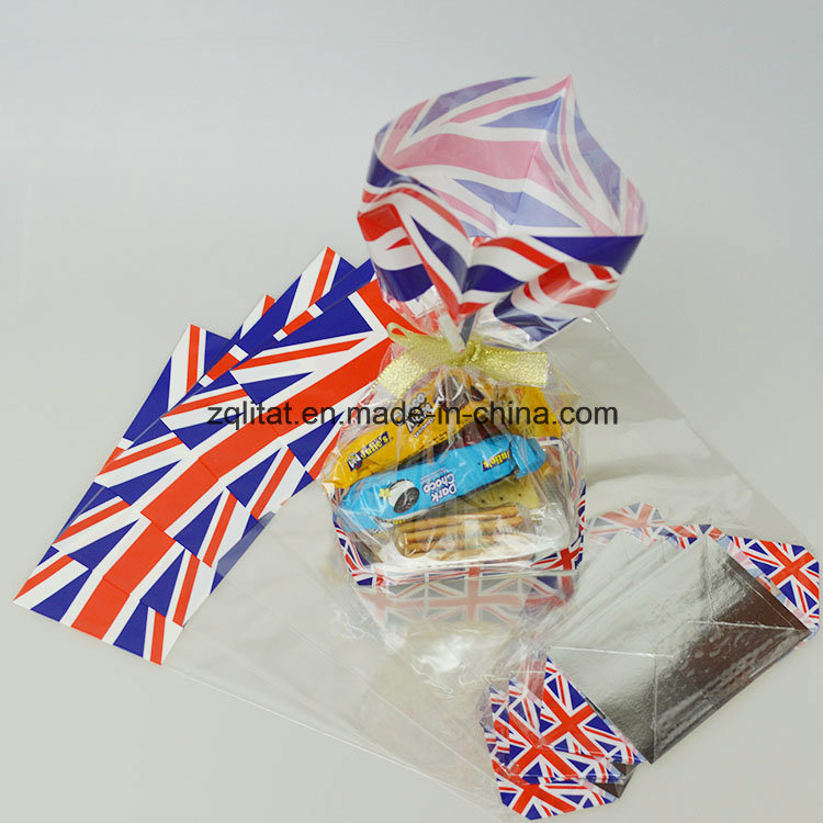 BOPP Transparent Poly Bag with Hard Bottom Card Packaging Bag