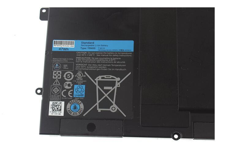 New Rechargeable Battery Y9n00 for DELL 489xn XPS13 XPS12 Xpsl321X Series Laptop