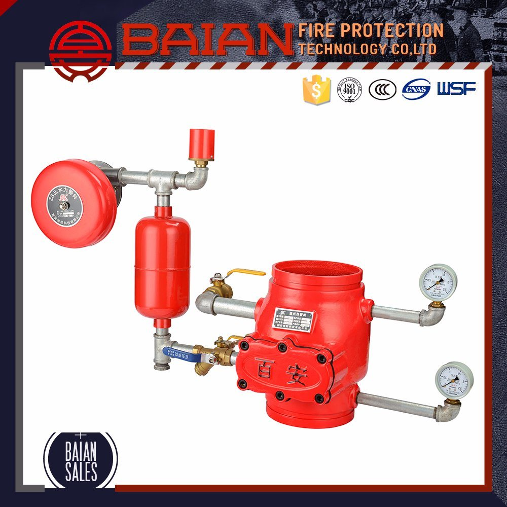 Fire Suppression System for Wet Alarm valve