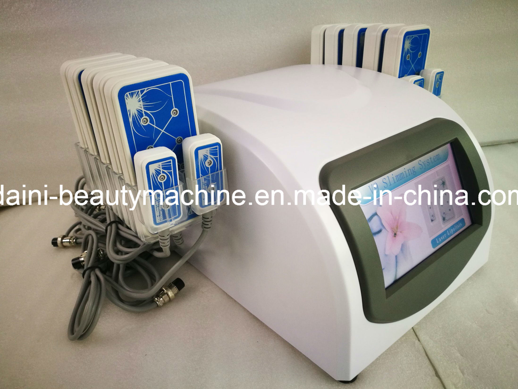 14 Paddles Diode Lipo Lipolaser Laser Lllt Fat Reduce Slimming Machine