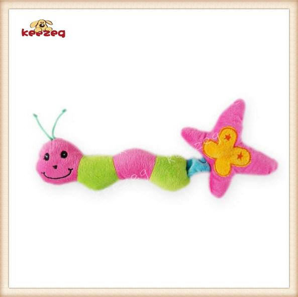 Pet Plush Toy Caterpillar Style Dog Toy
