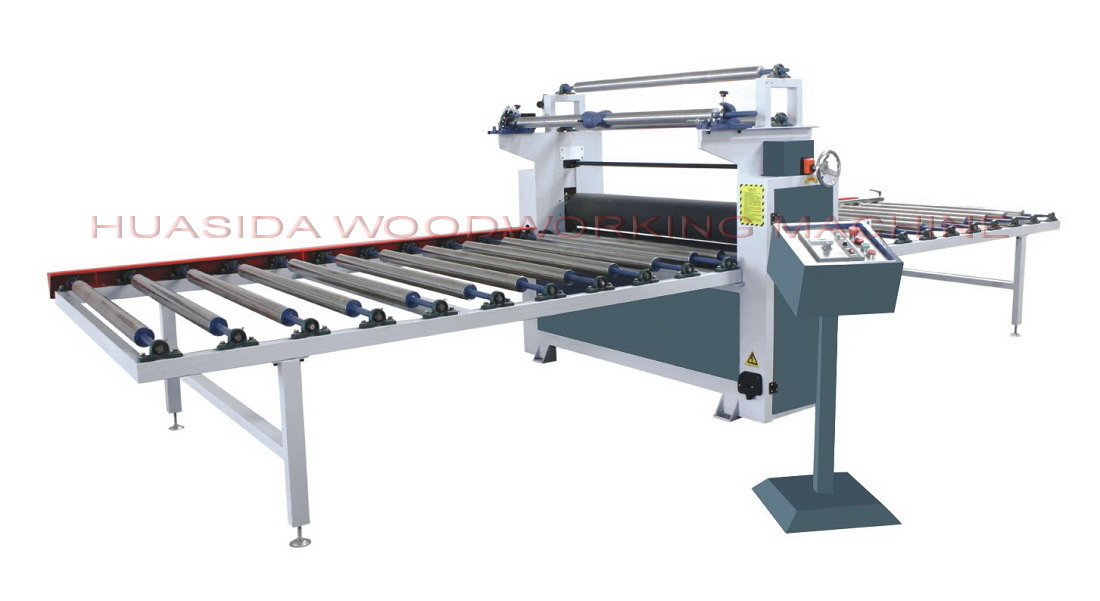 Woodworking Machine for Film Coating