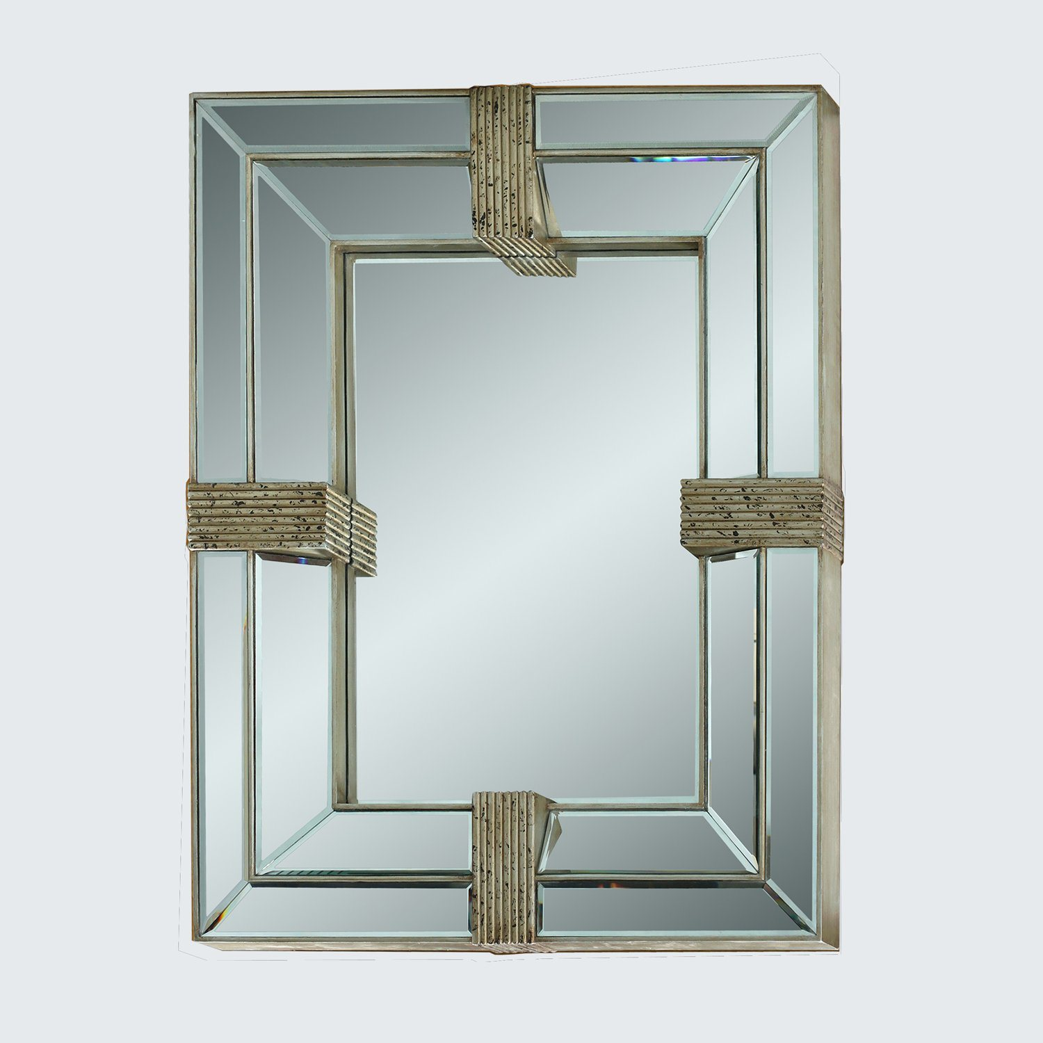 Wooden Big Size Wall Mirror Hotel Decoration