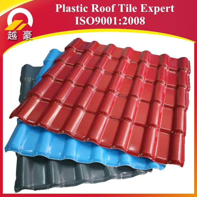 Beautiful Colored Plastic Sheets PVC Chinese Synthetic Resin Roof Tiles Sheet   China  Synthetic Resin Roof Tiles Sheet, Building Materials
