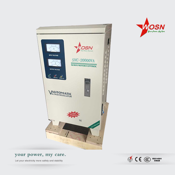 AC Power Supply 20kVA Single Phase Automatic Voltage Stabilizer