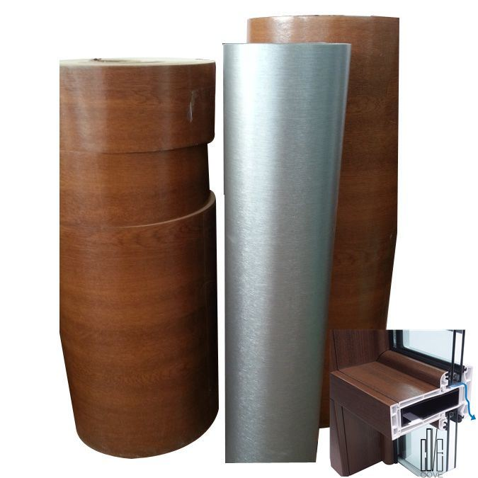 Anti-UV Laminating PVC Protective Film for Window & Door Profile