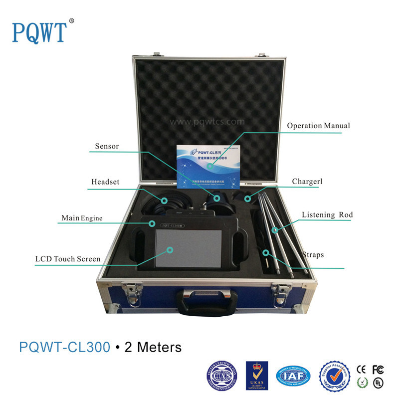 ISO, SGS and BV Certified Water Leak Detection Equipment Pqwt-Cl300