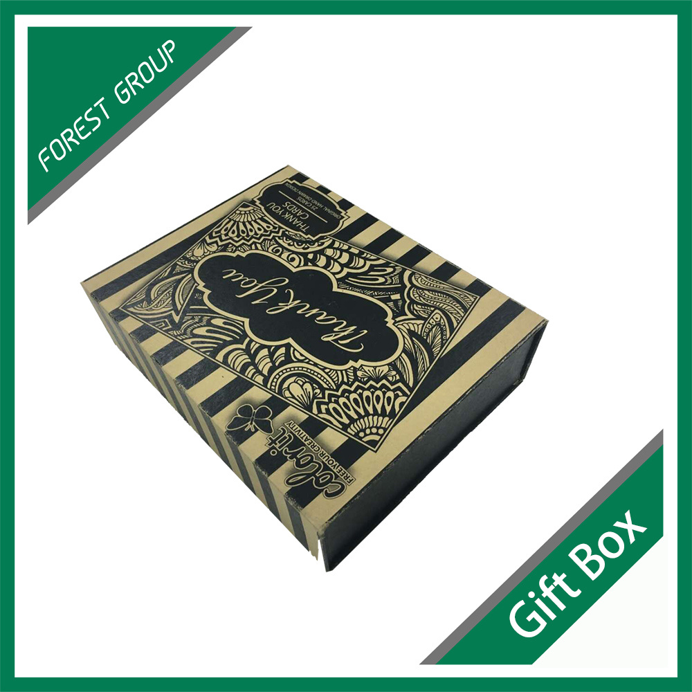 Book Shape Magnetic Closure Gift Box Cardboard