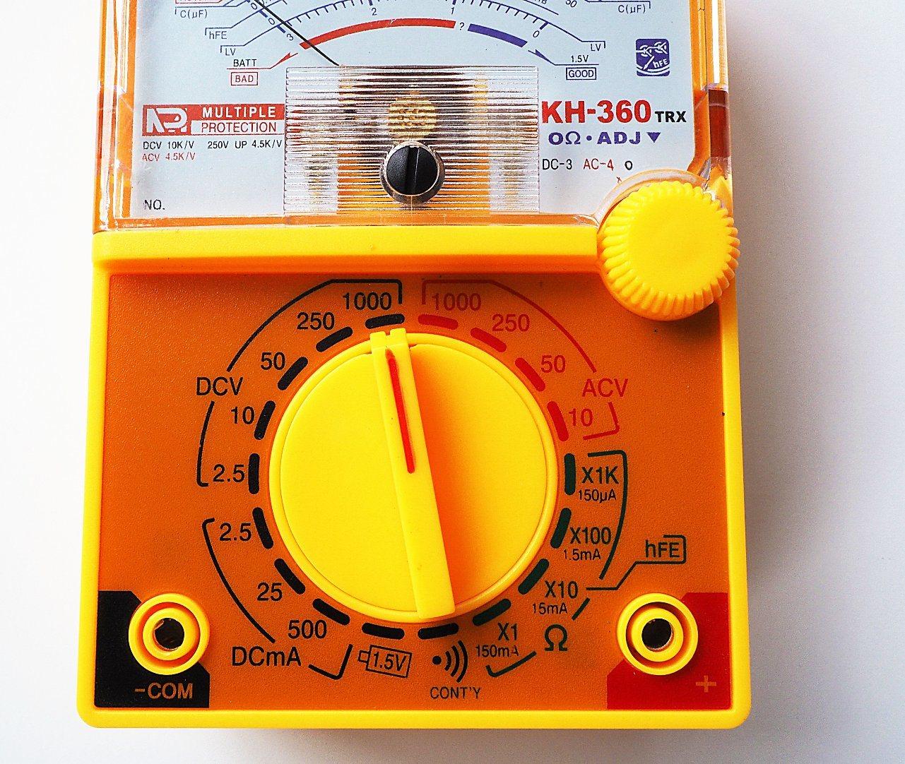 Electrial AC DC Voltage Analog Multimeter (KH360)