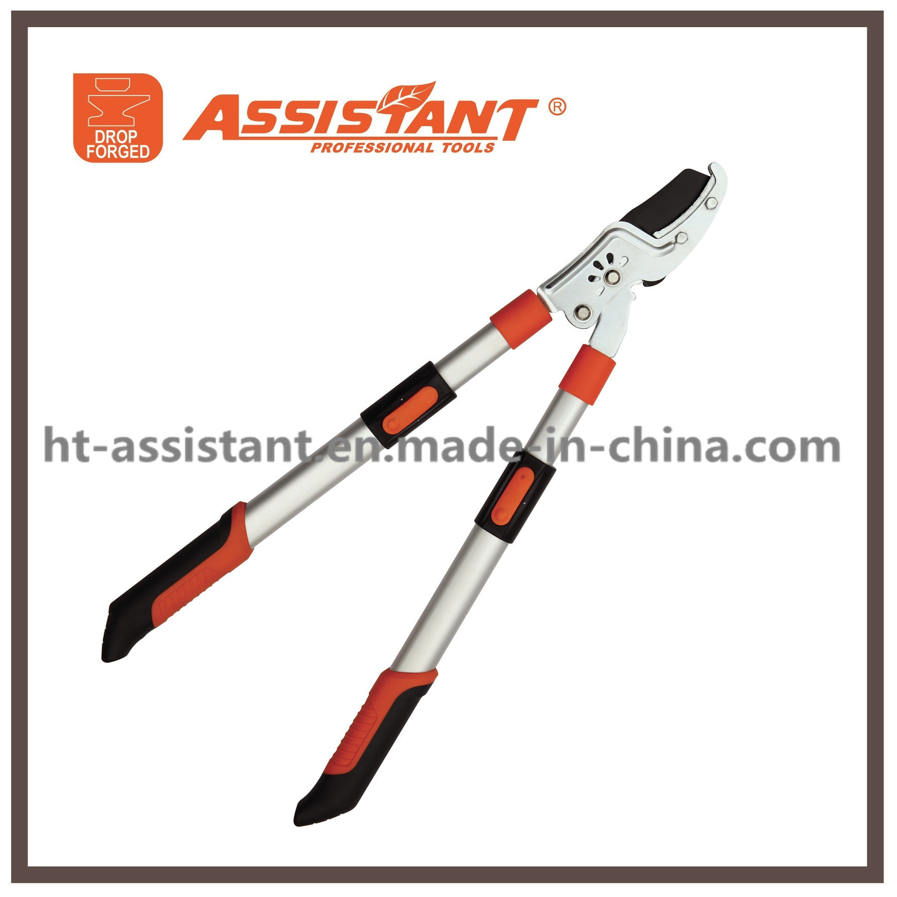 Drop Forged Pruning Shears Telescopic Extendable Aluminum Handles Anvil Loppers