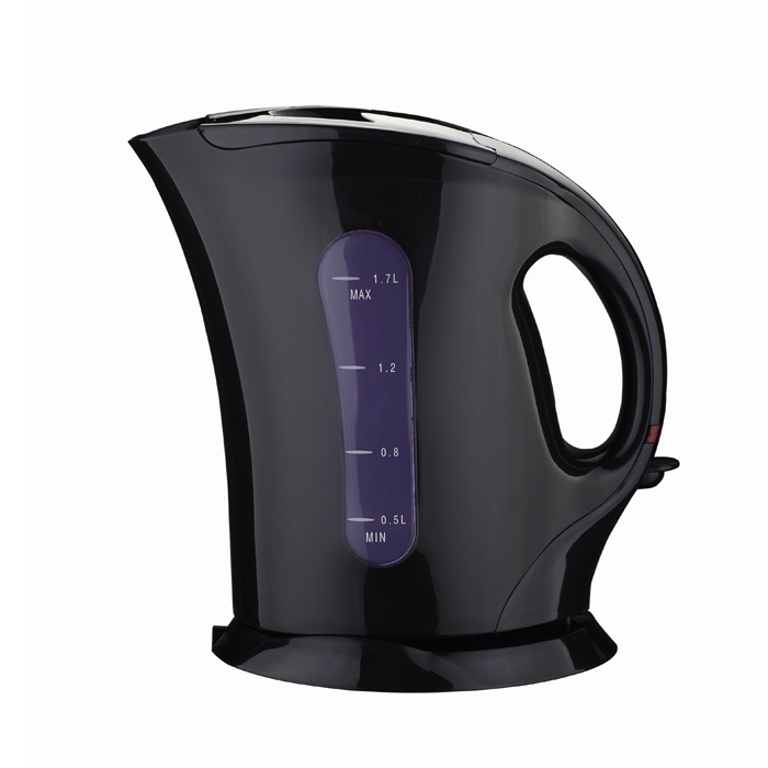 Hot Sell Plastic Electric Kettle with High Quality 1.7L Capacity