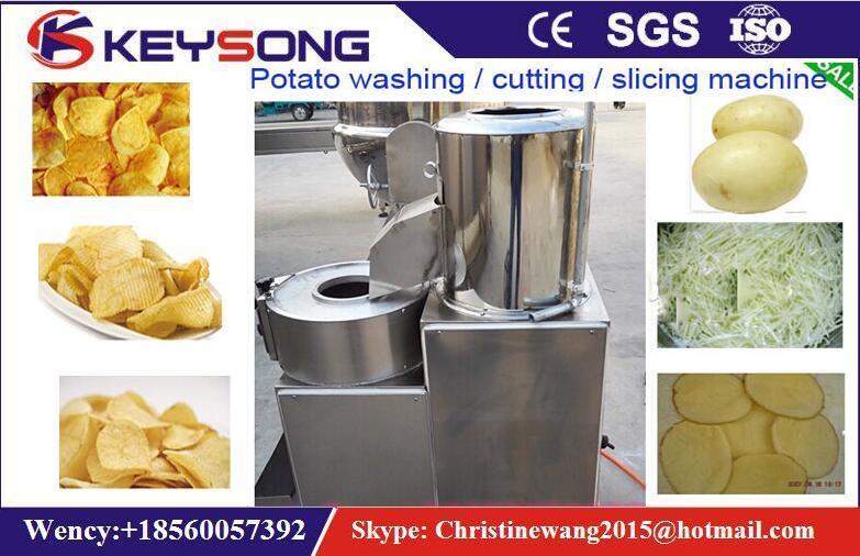 Industrial Potato Chips Cutter