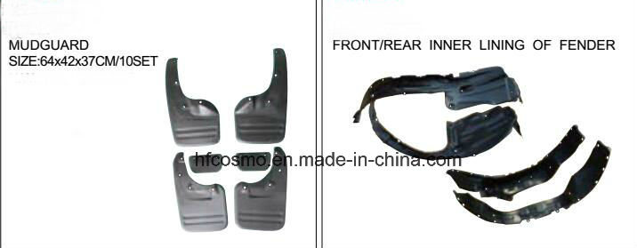 Isuzu Pick up Jmc 2001-2009 Front Bumper Car Head Lamp Car Accessories