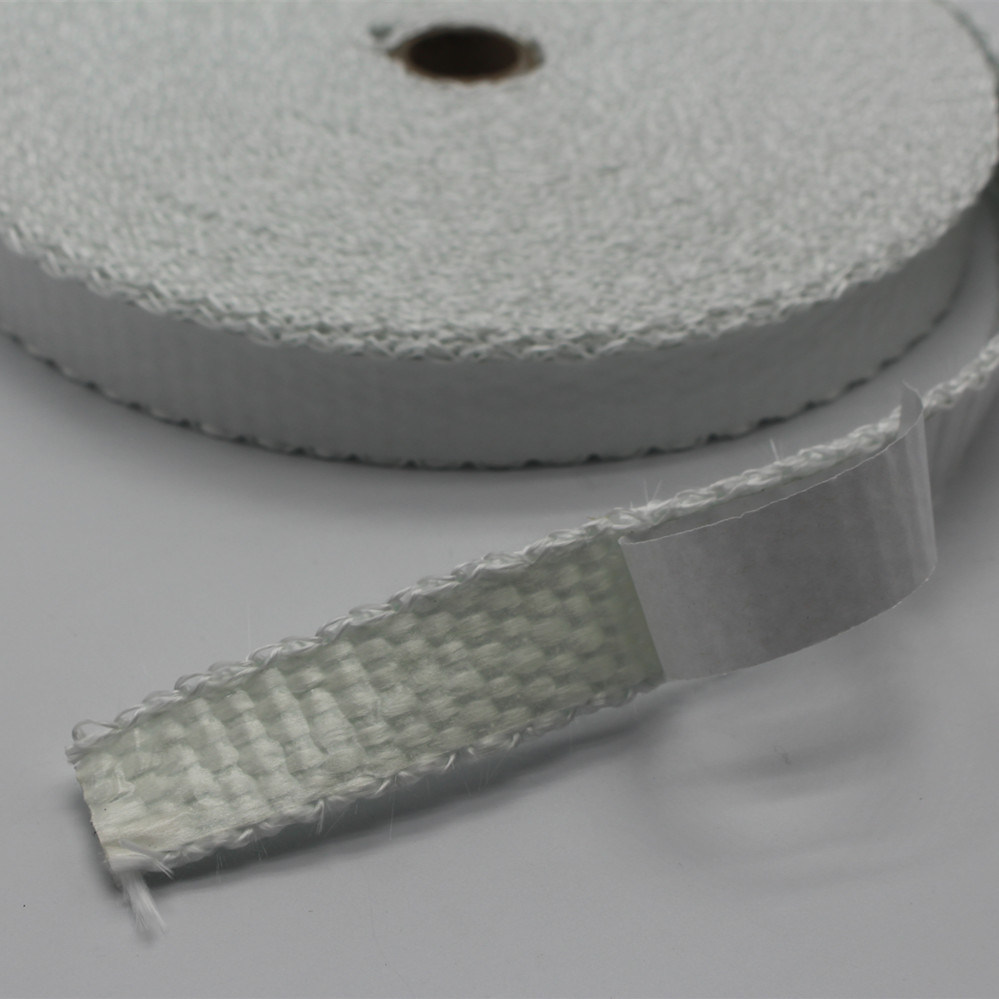 High Temperature Heat Resistant Thermal Insulating Fiberglass Tape with Adhesive