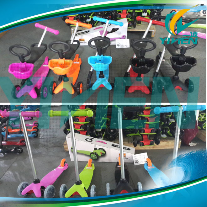 Three Wheel Kids Plastic Scooter From Factory
